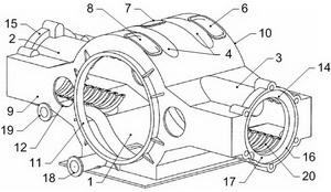 Корпус двигателя 2Д80ГКО